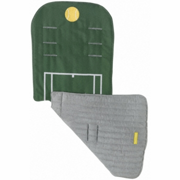 Maclaren Reversible Seat Liner in Sports Fan Tennis
