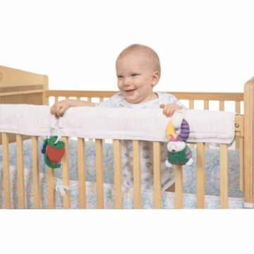 Leachco Easy Teether Crib Rail Cover in Ivory