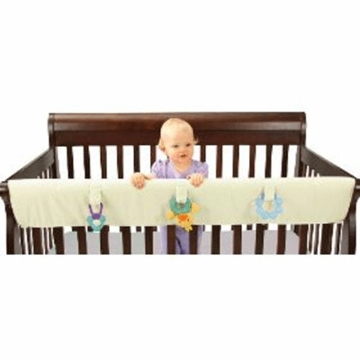 Leachco Easy Teether XL Convertible Crib Rail Cover in Ivory