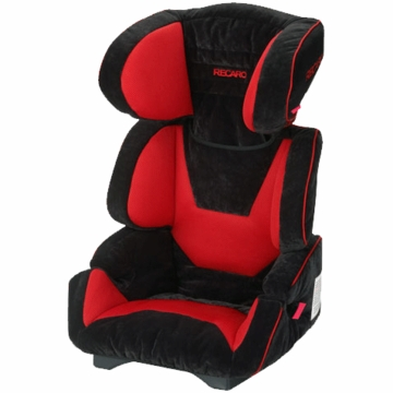 Recaro Vivo Booster Car Seat in Crimson Red