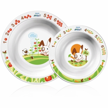 Avent Toddler 2 Bowl Set- 6 Months+