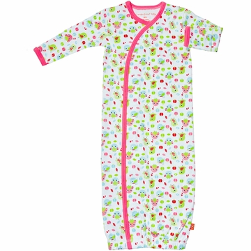 Magnificent Baby Girl's Birds Gown (One Size)