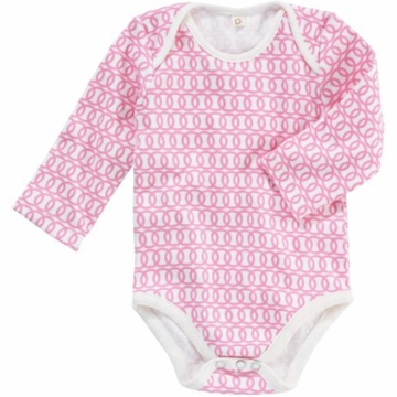 DwellStudio Loops Blossom Long Sleeve Bodysuit 3-6 Months