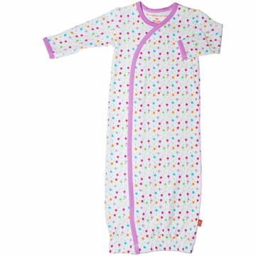 Magnificent Baby Girl's Star Gown (One Size)