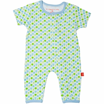 Magnificent Baby Union Suit - Boy's Apple - 3 Months