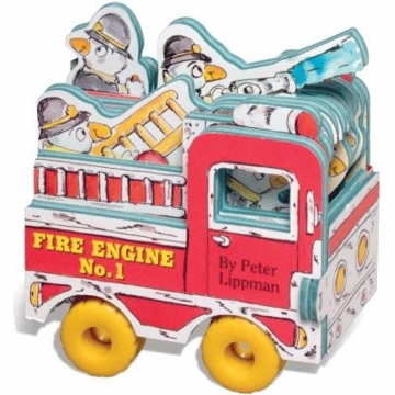 Mini Wheels: Fire Engine by Peter Lippman