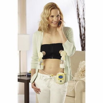 Medela Easy Expression Bustier (Black) - Medium
