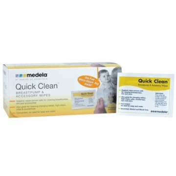 Medela Quick Clean Single Wipes Box 40CT