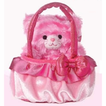 "Aurora Plush 8"" Milly The Pinkest Kitten Pet Carrier"