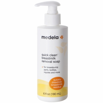 Medela Quick Clean Breastmilk Removal Soap - 6 oz