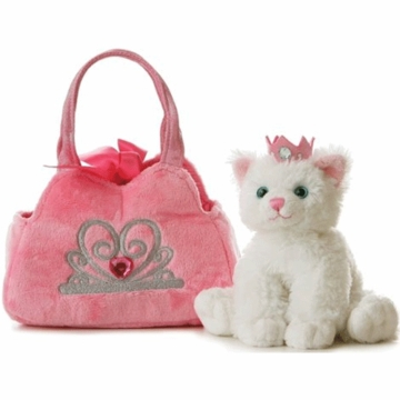 "Aurora 8"" Princess Kitten Pet Carrier"