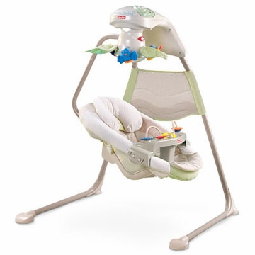 Fisher-Price Natures Touch Baby Papasan Cradle Swing
