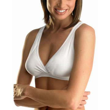Medela White Nursing Sleep Bra - Large