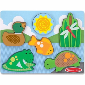 Melissa & Doug Chunky Scene in Pond Play