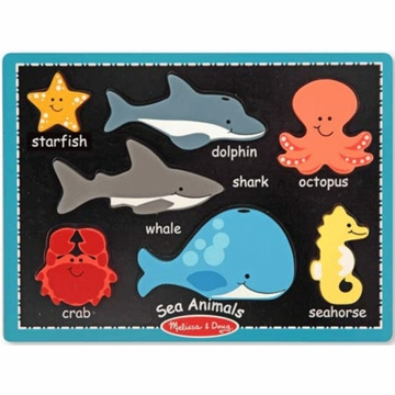 Melissa & Doug First Chunky Sea Animals