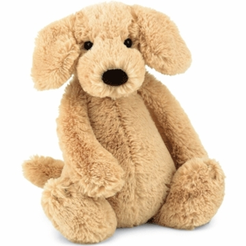 "Jellycat Bashful 12"" Medium Labrador"