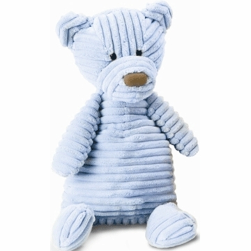 "Jellycat Cordy 15"" Beginnings Bear in Blue"