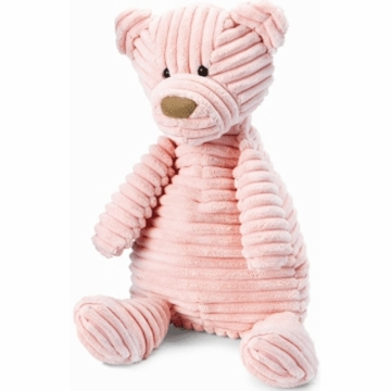 "Jellycat Cordy 15"" Beginnings Bear in Pink"