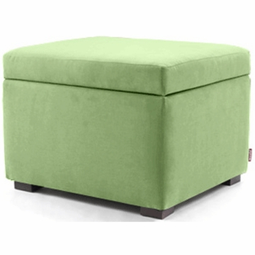 Monte Design Alto Ottoman in Lime Green