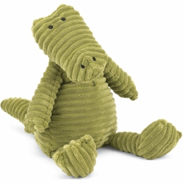 "Jellycat Cordy 10"" Medium Roy Gator in Green"