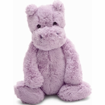 "Jellycat 12"" Bashful Medium Hippo in Lilac"