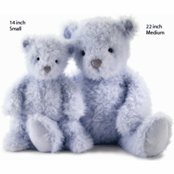 "Jellycat 22"" Whisper Medium Bear in Blue"