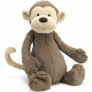"Jellycat 12"" Medium Bashful Monkey"