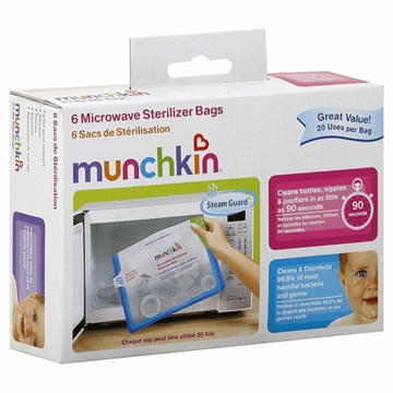 Munchkin 6 Microwave Sterilizer Bags