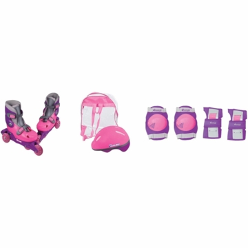 Chicago Skates InLine Training Set in Pink - Sizes J10-J13