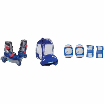 Chicago Skates InLine Training Set in Blue Sizes 1-4