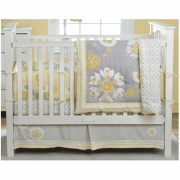 MiGi Sweet Sunshine 3 Piece Crib Bedding Set