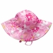 iPlay Brim Sun Protection Hat - Classics Light Pink Flowers - Infant (6-18 mo)