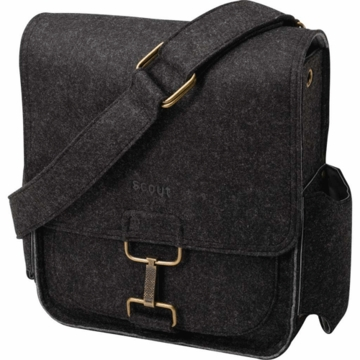 Petunia Pickle Bottom Journey Pack in Heathered Black