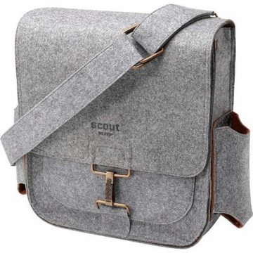 Petunia Pickle Bottom Journey Pack in Heathered Gray