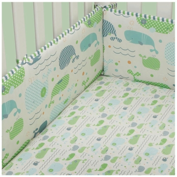 MiGi Little Whale Crib Bumper
