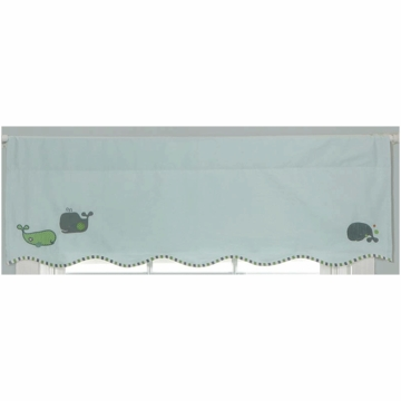 MiGi Little Whale Window Valance