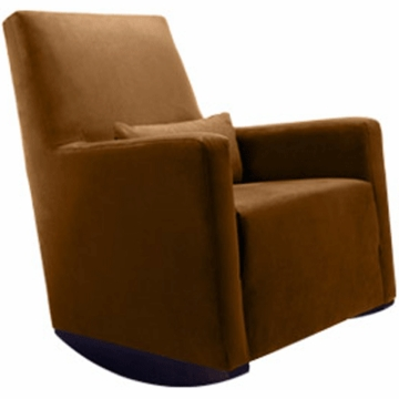 Monte Design Alto Rocker in Brown Bonded Leather