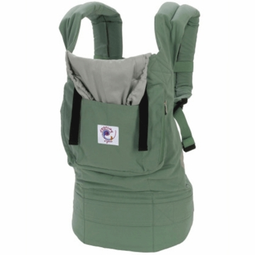 Ergobaby Carrier Organic Sea Green / Silver - D
