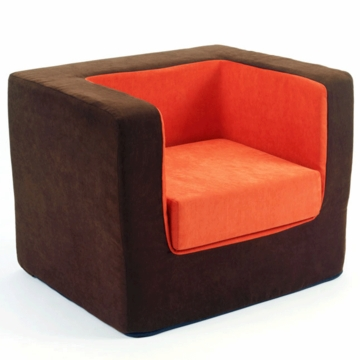 Monte Design Cubino Chair in Brown/Orange