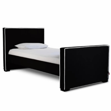 Monte Design Dorma Twin Bed in Black