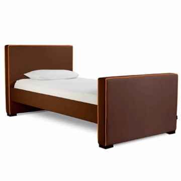 Monte Design Dorma Twin Bed in Brown