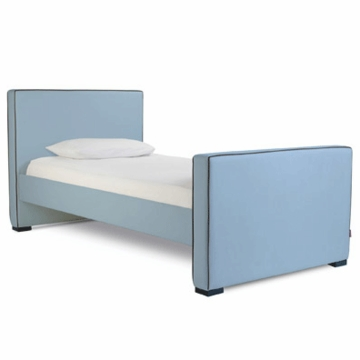 Monte Design Dorma Twin Bed in Light Blue