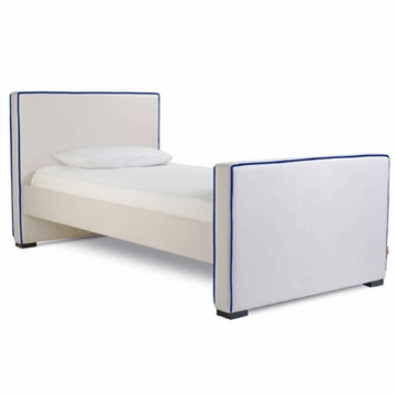Monte Design Dorma Twin Bed in Stone