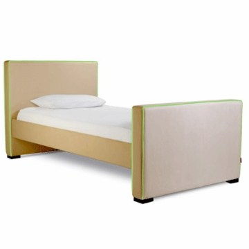 Monte Design Dorma Twin Bed in Tan