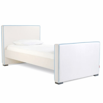 Monte Design Dorma Twin Bed in White