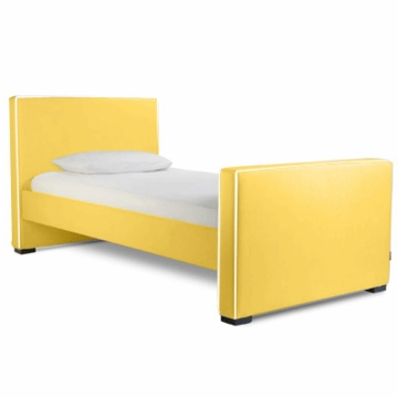 Monte Design Dorma Twin Bed in Yellow