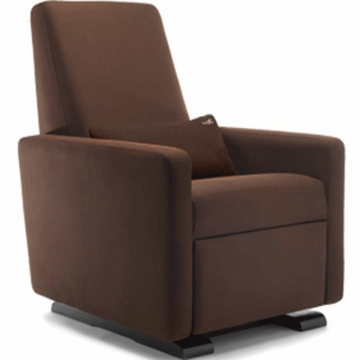 Monte Design Grano Glider Recliner in Brown