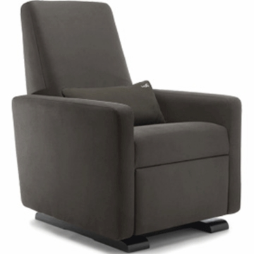 Monte Design Grano Glider Recliner in Charcoal