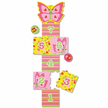 Melissa & Doug Bella Butterfly Hopscotch