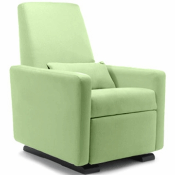 Monte Design Grano Glider Recliner in Lime Green